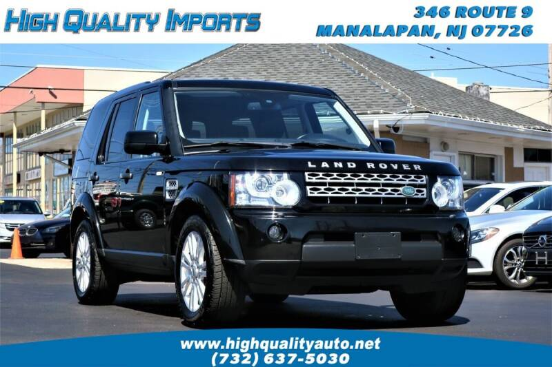 2011 Land Rover LR4 for sale at High Quality Imports in Manalapan NJ