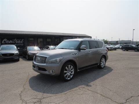 2014 Infiniti QX80 for sale at Central Auto in South Salt Lake UT