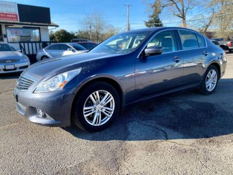 2010 Infiniti G37 Sedan for sale at Universal Auto INC in Salem OR