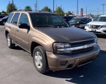 2002 Chevrolet TrailBlazer for sale at Cobalt Cars in Atlanta GA