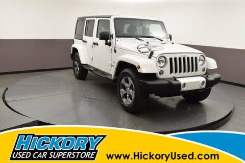 2016 Jeep Wrangler Unlimited for sale at Hickory Used Car Superstore in Hickory NC