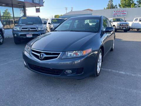 2008 Acura TSX for sale at Adams Auto Sales in Sacramento CA
