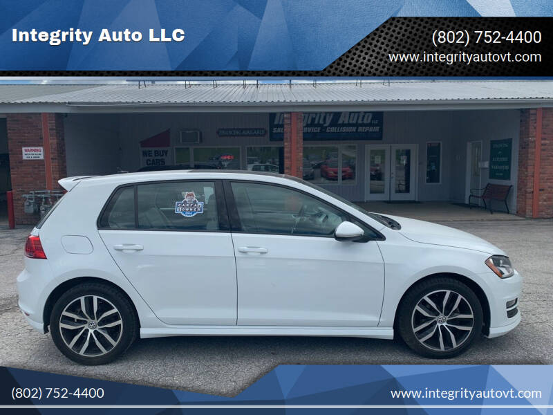 2015 Volkswagen Golf for sale at Integrity Auto LLC - Integrity Auto 2.0 in St. Albans VT