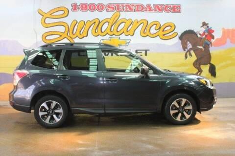 2018 Subaru Forester for sale at Sundance Chevrolet in Grand Ledge MI