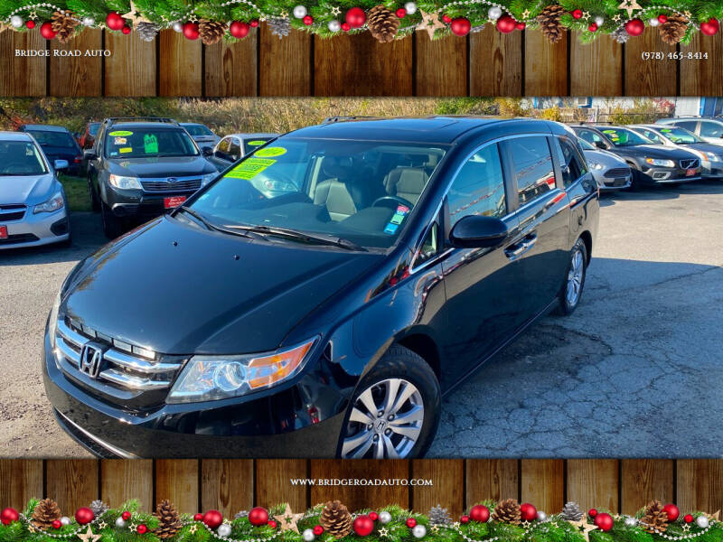2014 Honda Odyssey for sale at Bridge Road Auto in Salisbury MA