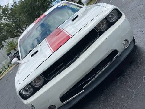2012 Dodge Challenger for sale at HIGH PERFORMANCE MOTORS in Hollywood FL