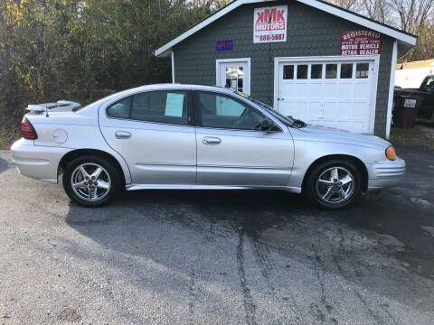 2004 Pontiac Grand Am for sale at KMK Motors in Latham NY