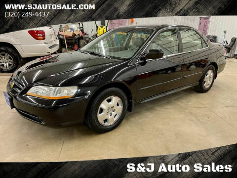 2001 Honda Accord for sale at S&J Auto Sales in South Haven MN