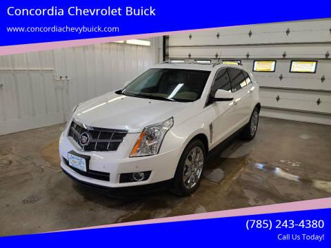 2012 Cadillac SRX for sale at Concordia Chevrolet Buick in Concordia KS
