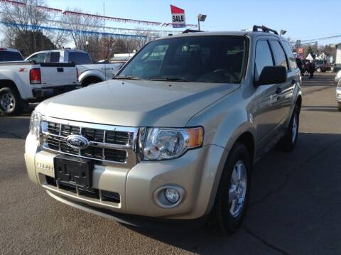 2012 Ford Escape for sale at Steves Auto Sales in Cambridge MN