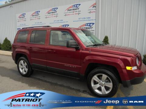 2016 Jeep Patriot for sale at PATRIOT CHRYSLER DODGE JEEP RAM in Oakland MD