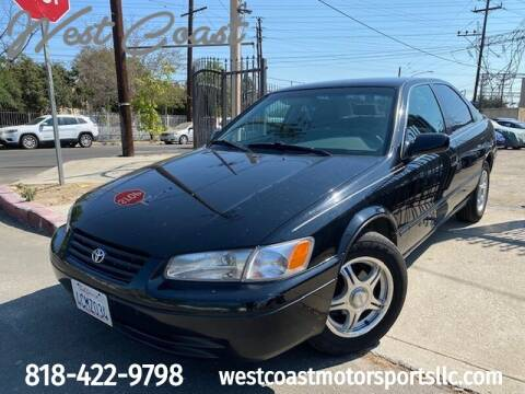 1998 Toyota Camry for sale at West Coast Motor Sports in North Hollywood CA
