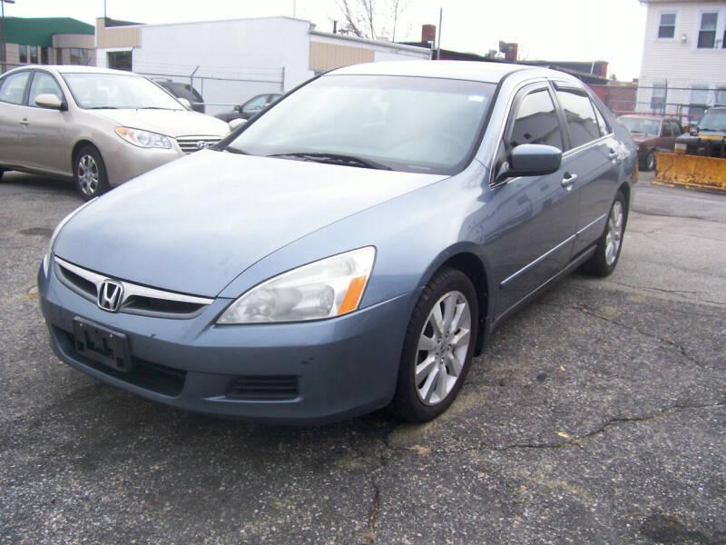 2007 Honda Accord for sale at Dambra Auto Sales in Providence RI