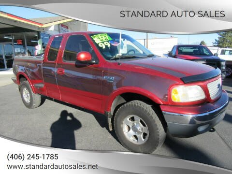 1999 Ford F-150 for sale at Standard Auto Sales in Billings MT