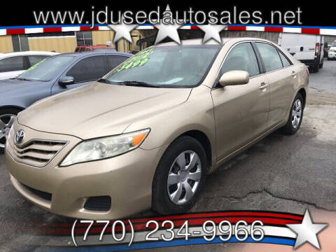 2011 Toyota Camry for sale at J D USED AUTO SALES INC in Doraville GA