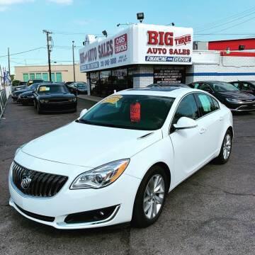 2016 Buick Regal for sale at Big Three Auto Sales Inc. in Detroit MI