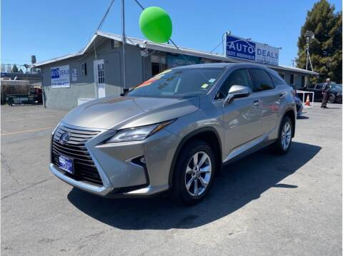 2018 Lexus RX 350 for sale at AutoDeals in Daly City CA