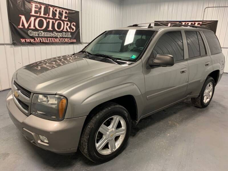 2007 Chevrolet TrailBlazer for sale at Elite Motors in Uniontown PA