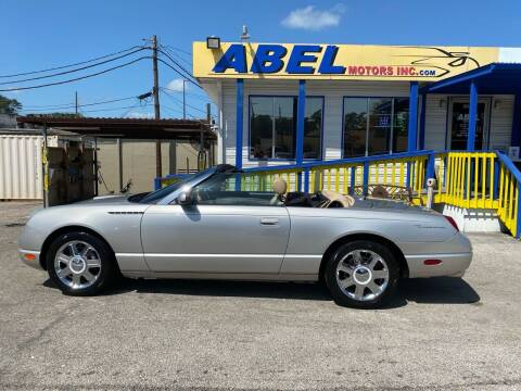 2004 Ford Thunderbird for sale at Abel Motors, Inc. in Conroe TX