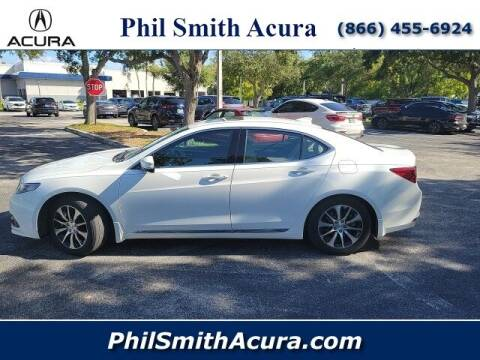 2016 Acura TLX for sale at PHIL SMITH AUTOMOTIVE GROUP - Phil Smith Acura in Pompano Beach FL