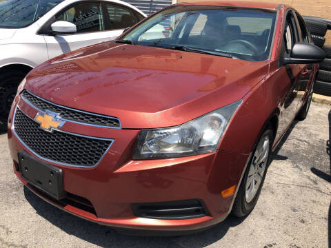 2012 Chevrolet Cruze for sale at Ultra Auto Enterprise in Brooklyn NY