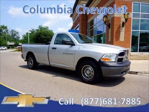 2011 RAM Ram Pickup 1500 for sale at COLUMBIA CHEVROLET in Cincinnati OH