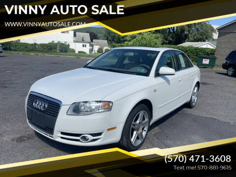 2006 Audi A4 for sale at VINNY AUTO SALE in Duryea PA