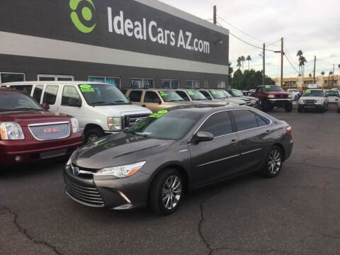 2016 Toyota Camry Hybrid for sale at Ideal Cars Broadway in Mesa AZ