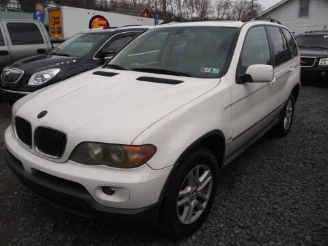 2006 BMW X5 for sale at Keyser Autoland llc in Scranton PA