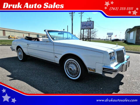 1983 Buick Riviera for sale at Druk Auto Sales in Ramsey MN
