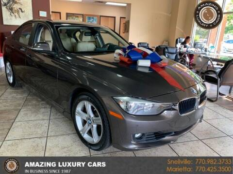 2015 BMW 3 Series for sale at Amazing Luxury Cars in Snellville GA