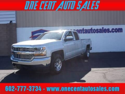 2018 Chevrolet Silverado 1500 for sale at One Cent Auto Sales in Glendale AZ