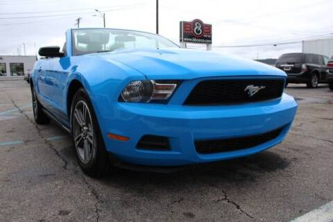 2010 Ford Mustang for sale at B & B Car Co Inc. in Clinton Township MI
