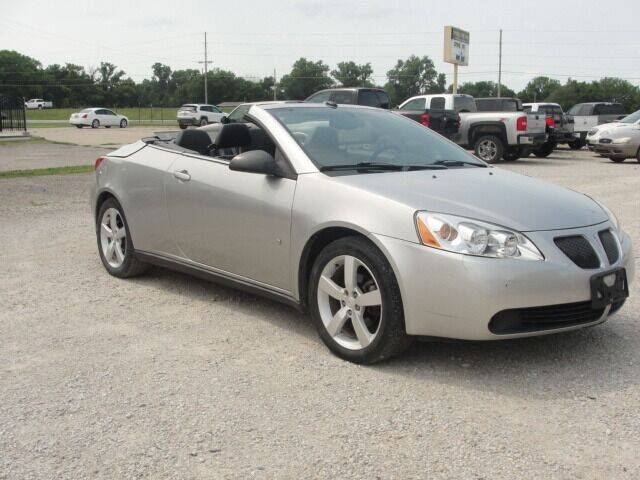 2008 Pontiac G6 for sale at Frieling Auto Sales in Manhattan KS