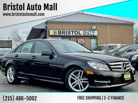 2013 Mercedes-Benz C-Class for sale at Bristol Auto Mall in Levittown PA
