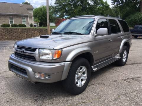 2002 Toyota 4Runner for sale at Borderline Auto Sales in Loveland OH