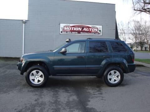 2005 Jeep Grand Cherokee for sale at Motion Autos in Longview WA