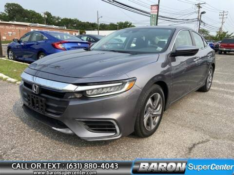 2019 Honda Insight for sale at Baron Super Center in Patchogue NY