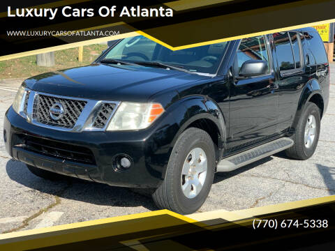 2008 Nissan Pathfinder for sale at Luxury Cars of Atlanta in Snellville GA