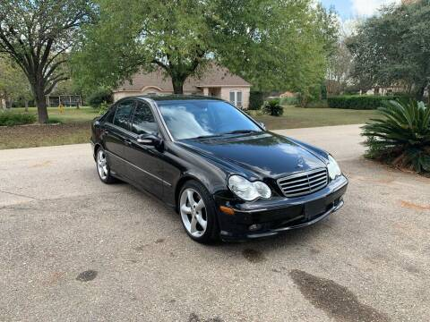 2006 Mercedes-Benz C-Class for sale at CARWIN MOTORS in Katy TX