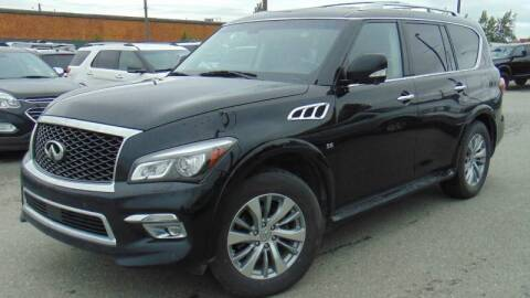 2015 Infiniti QX80 for sale at Dependable Used Cars in Anchorage AK