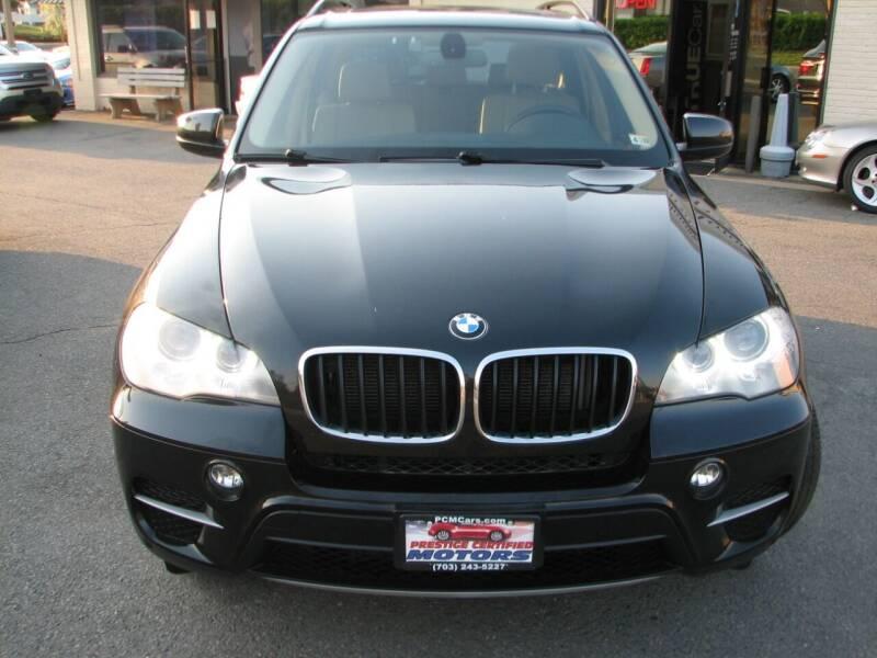 2013 BMW X5 for sale at Prestige Certified Motors in Falls Church VA