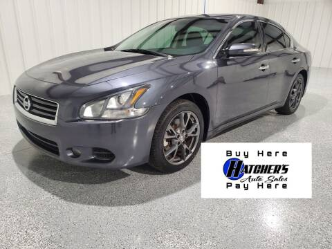 2012 Nissan Maxima for sale at Hatcher's Auto Sales, LLC - Buy Here Pay Here in Campbellsville KY