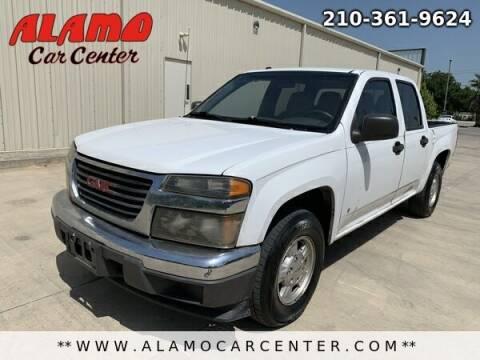 2006 GMC Canyon for sale at Alamo Car Center in San Antonio TX