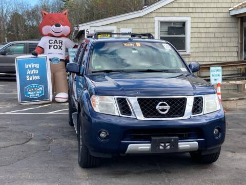 2010 Nissan Pathfinder for sale at Irving Auto Sales in Whitman MA