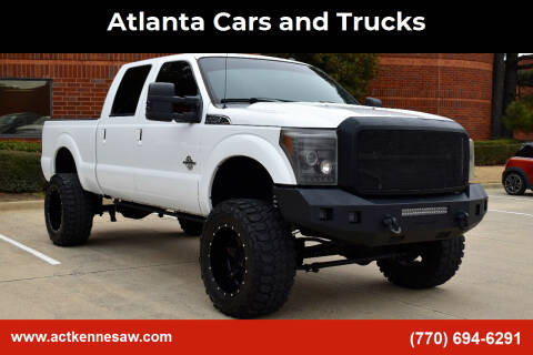 2014 Ford F-350 Super Duty for sale at Atlanta Cars and Trucks in Kennesaw GA