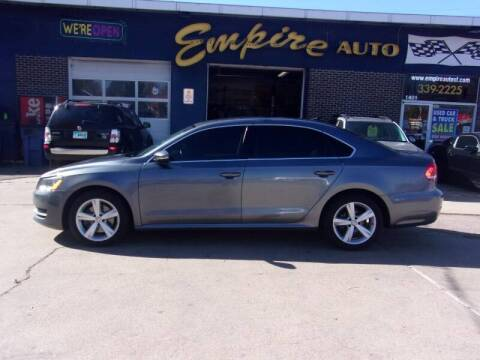 2012 Volkswagen Passat for sale at Empire Auto Sales in Sioux Falls SD