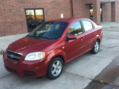 2008 Chevrolet Aveo for sale at STATEWIDE AUTOMOTIVE LLC in Englewood CO