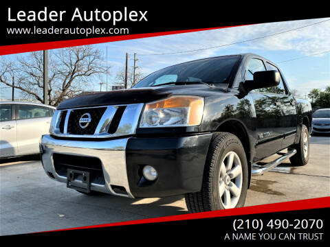 2012 Nissan Titan for sale at Leader Autoplex in San Antonio TX