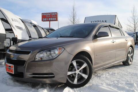 2012 Chevrolet Malibu for sale at Frontier Auto & RV Sales in Anchorage AK
